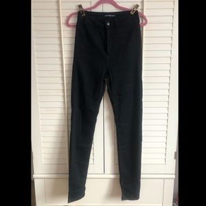 Fashion Nova black skinny jeans